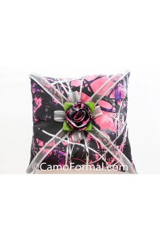 Muddy Girl Camo and Rose Pillow