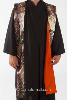 * Camo Clergy Minister Wedding Stole