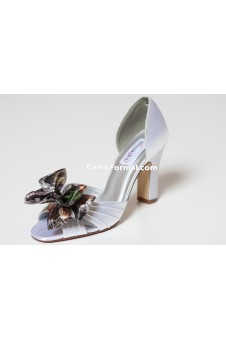 "SALE ""Angie"" Dyeable Camo Accented Shoe"