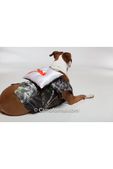 Dog's Vest with Ring-bearer Pillow