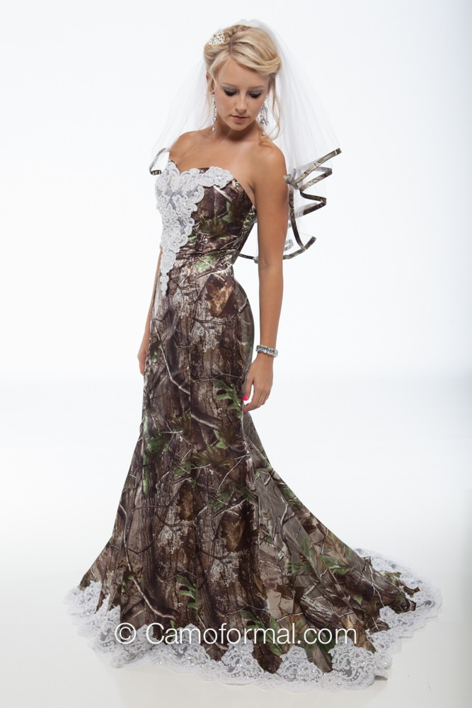 Camouflage Wedding Dresses Bbt Com