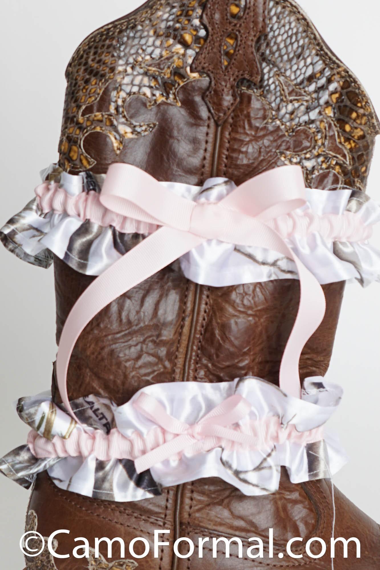 Bride And Groom Wedding Garter Camouflage Prom Wedding