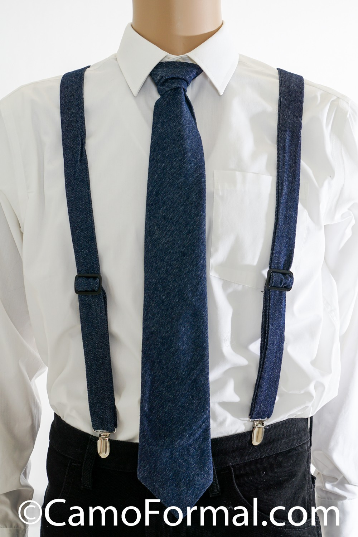 Camo Suspenders Amp Long Tie Adult Camouflage Prom Wedding