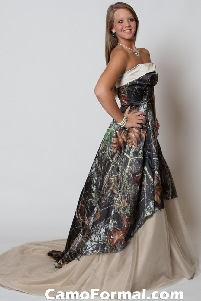 camouflage wedding dresses for sale mossy oak new breakup attire camouflage prom wedding 2419