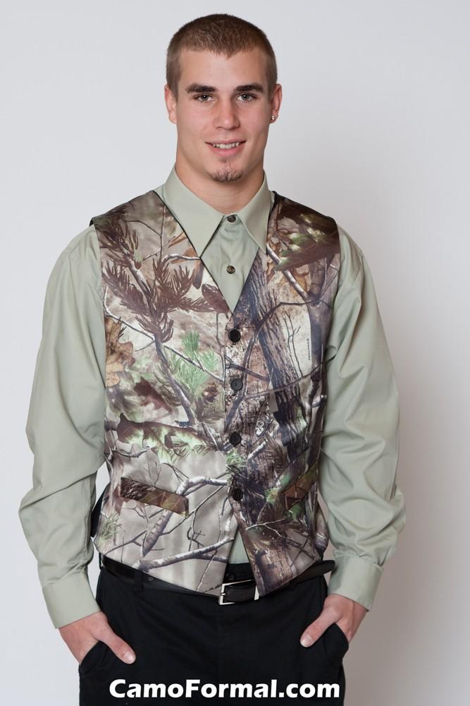 Mossy Oak Attire For Men Camouflage Prom Wedding