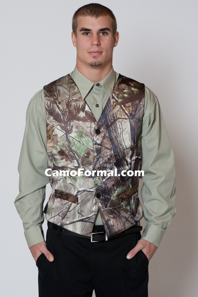 Wholesale Camo Wedding Suit