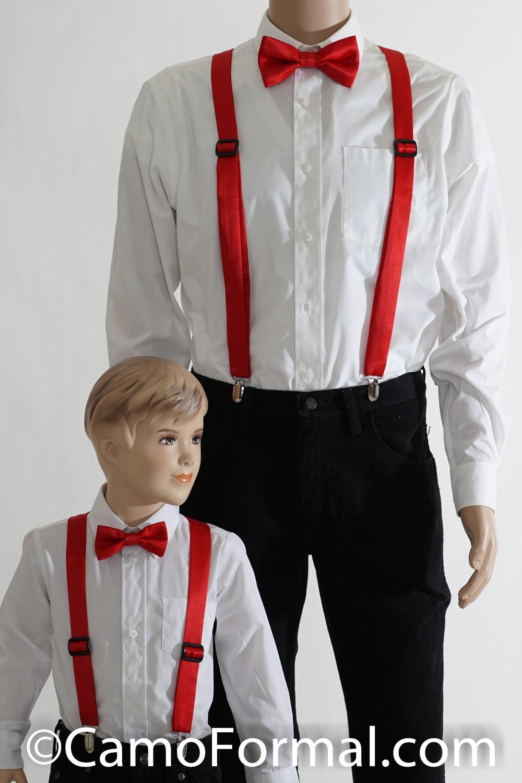 Camo Suspenders Amp Bow Tie Adult Camouflage Prom Wedding
